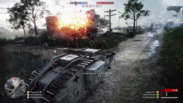 Combattimento con mezzi corazzati
