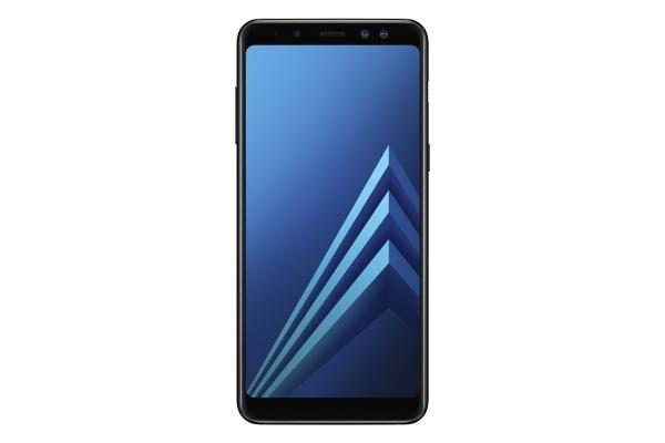 Samsung_GalaxyA8_Front_Black8658