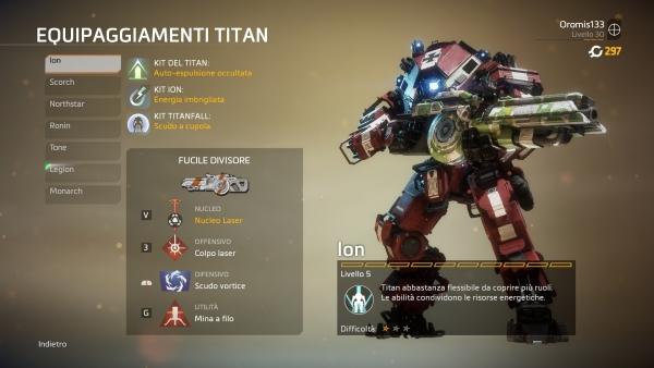 Personalizzazione Titan