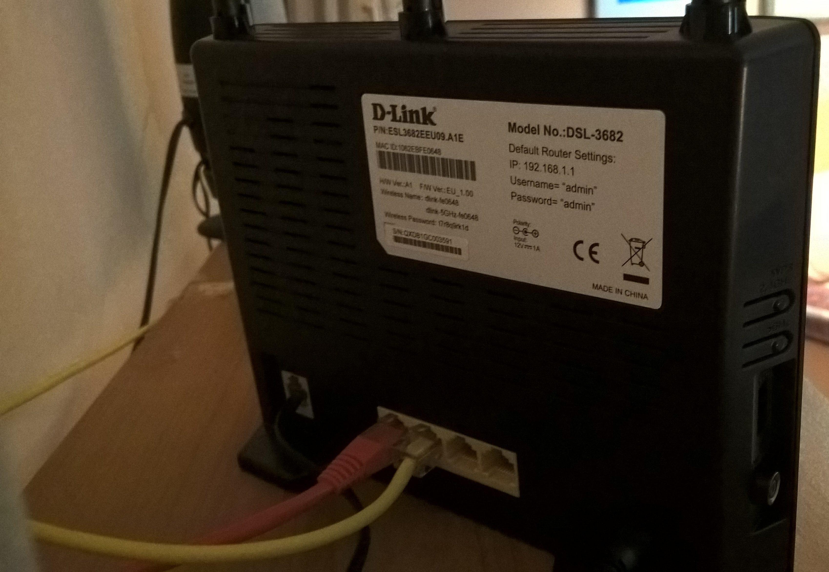 router collegato