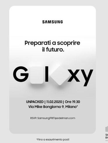 Invito ufficiale al Samsung District