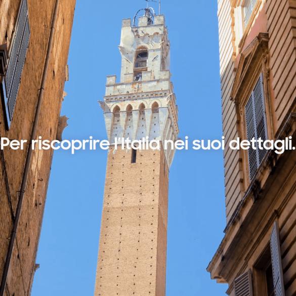 Viaggio Italia in 8K con Samsung