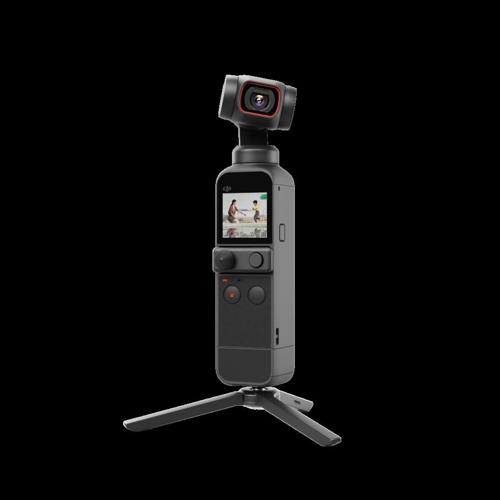 Design della mini telecamera DJI Pocker 2