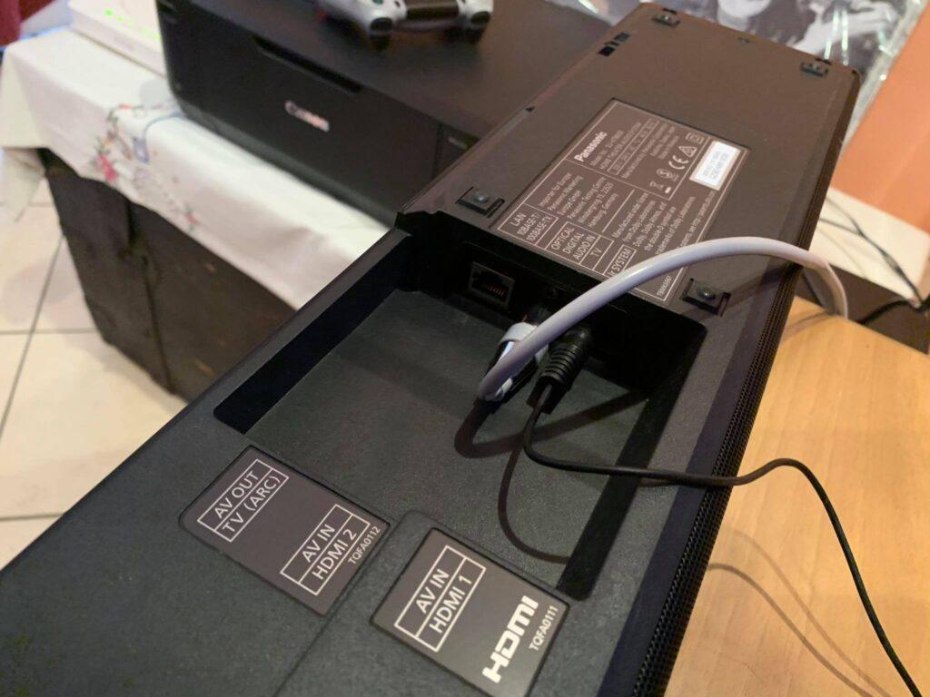 Installazione della SC-HTB900EGK