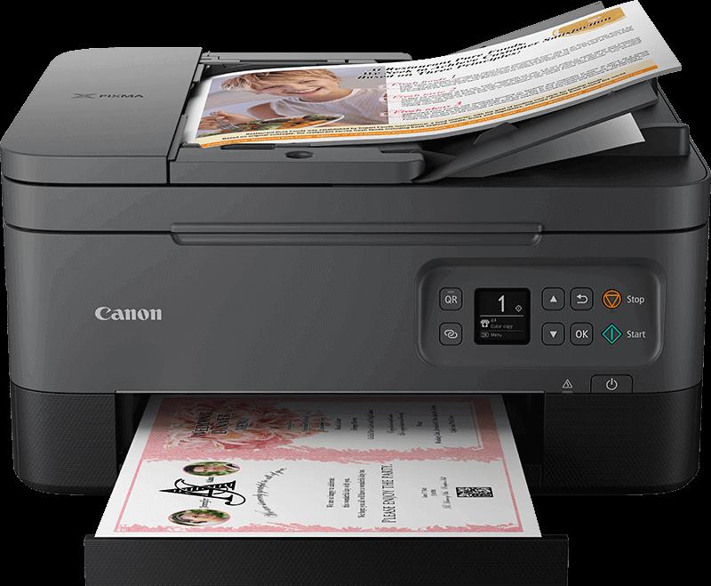 Rendering di una stampa con PIXMA serie TS7450