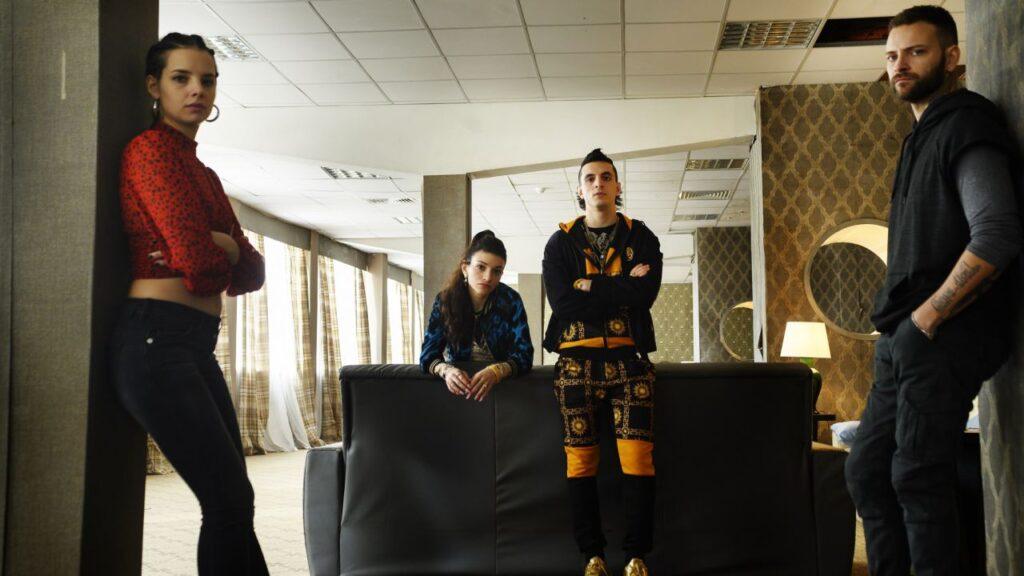 Suburra 3, scene tratte dalla serie