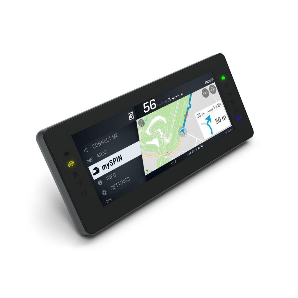 Rendering del nuovo sistema display Bosch