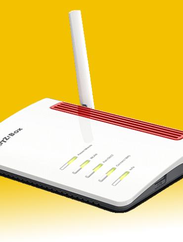 Rendering del FRITZ!Box 6850 LTE