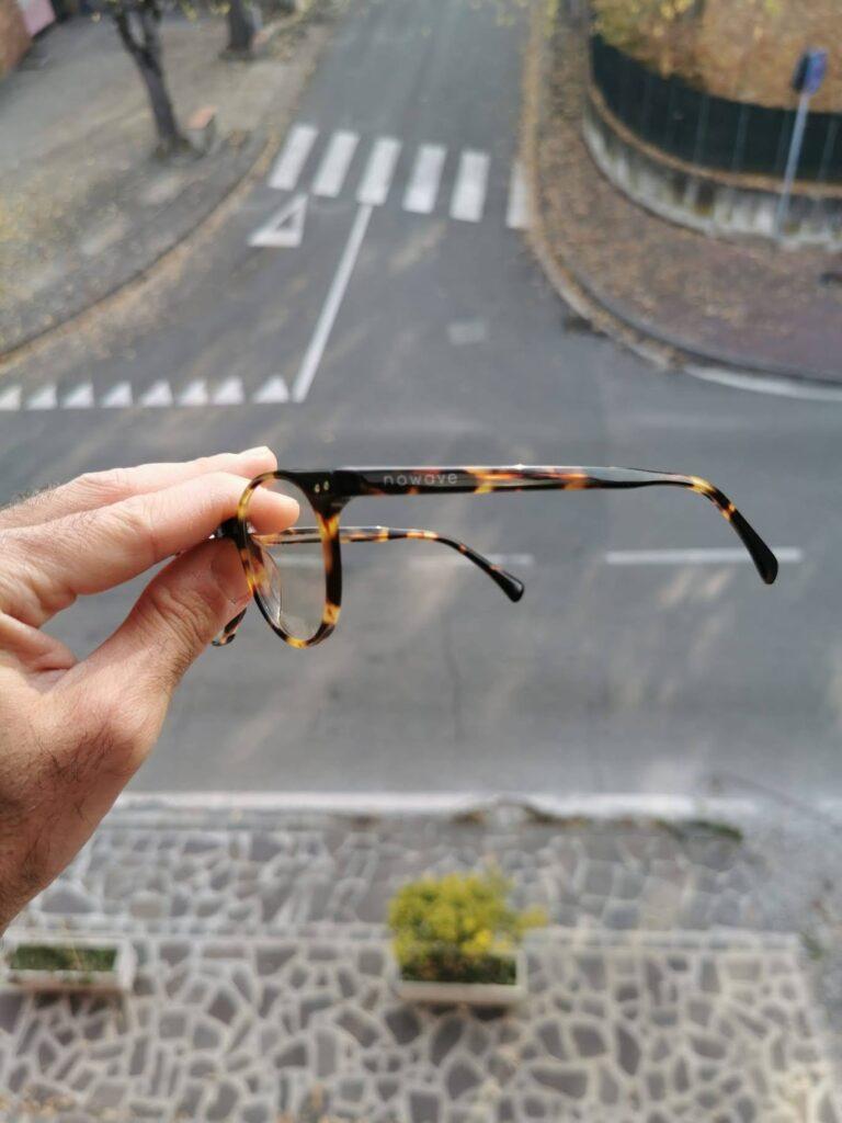 Materiale costruttivo e design degli occhiali Nowave