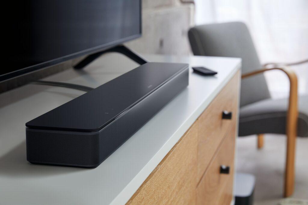 Bose Smart Soundbar 300 in salotto