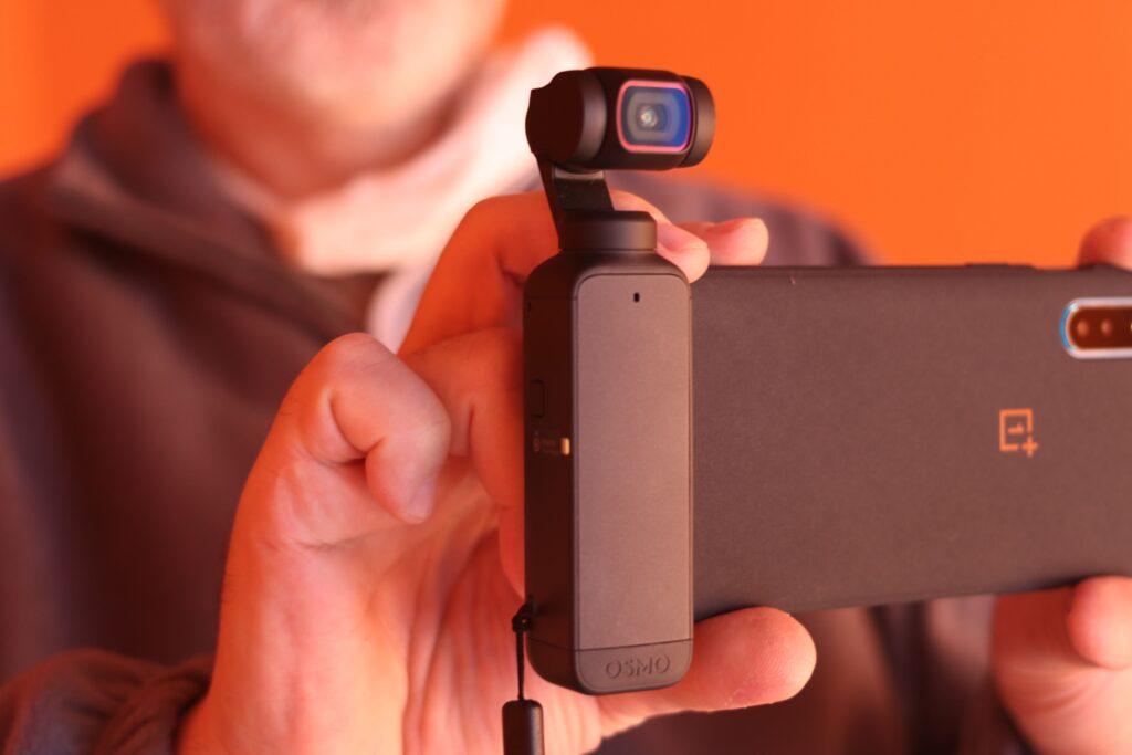 Il design di DJI Pocket 2