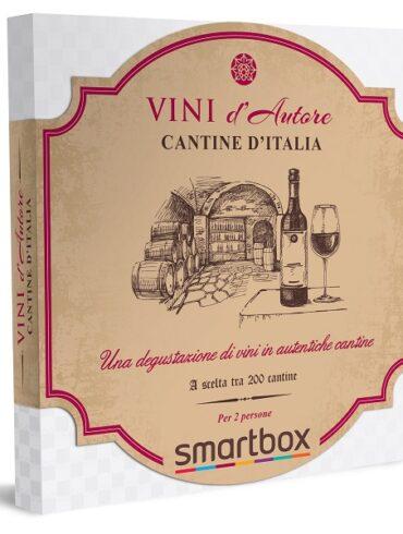 Confezione Smartbox Black Friday 2020 Cantine d'Italia