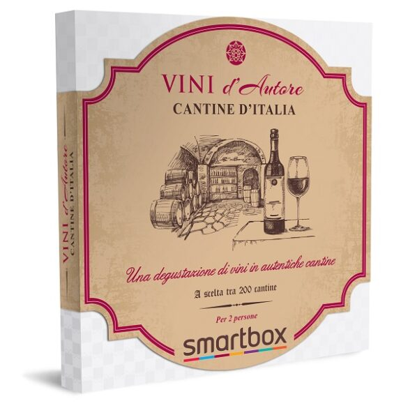 Confezione Smartbox Black Friday 2020 Cantine d'Italia
