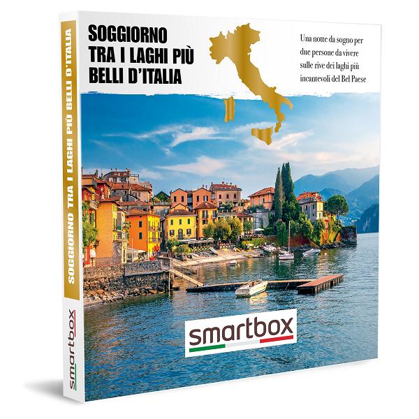 Confezione Soggiorni laghi Italiani Smartbox Black Friday 2020