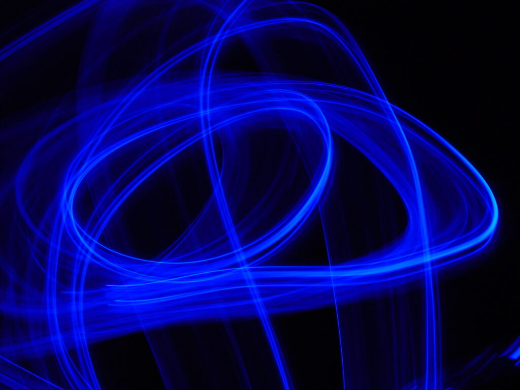 Gli effetti negativi della luce blu
