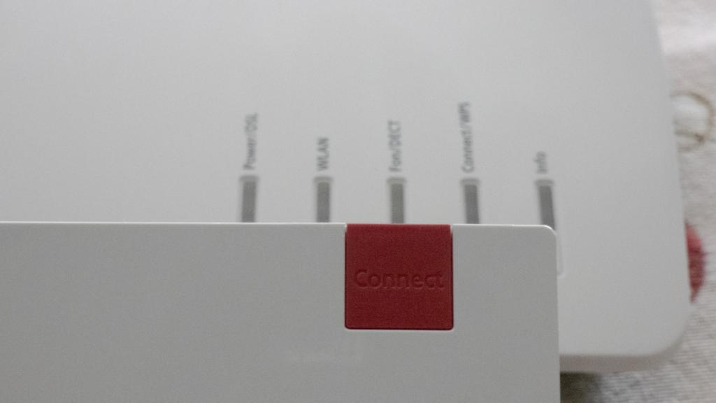 Dettagli dei LED presenti sul router