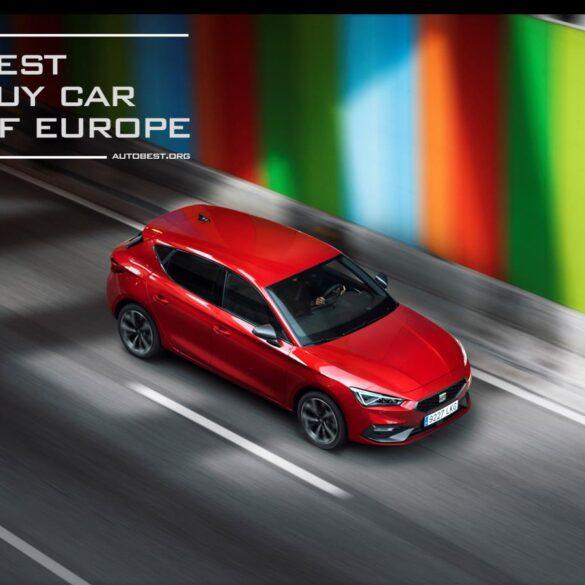 Best Buy Car of Europe 2021 vinta da nuova Seat Leon