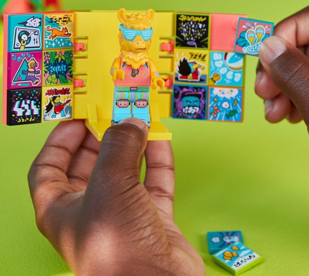 Scelta dei personaggi di Lego Vidiyo