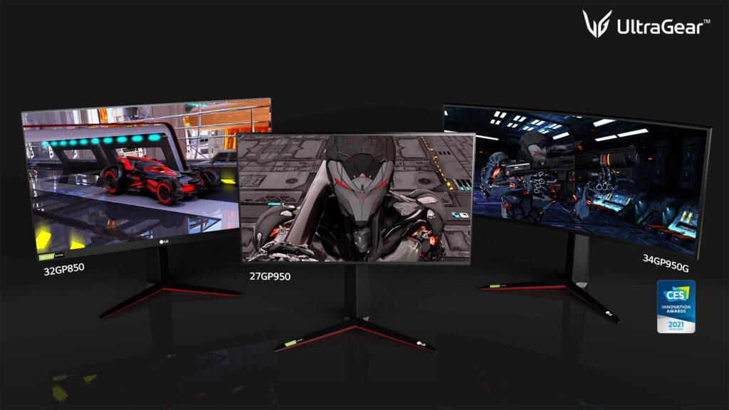 LG UltraGear per la serie monitor Ultra 2021 adatto ai gamers