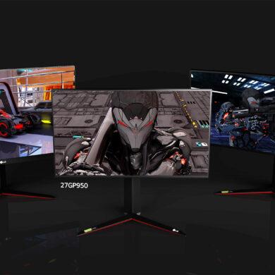 LG UltraGear per la serie monitor Ultra 2021