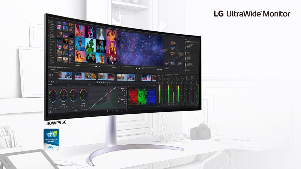 UltraWide di LG monitor serie Ultra 2021