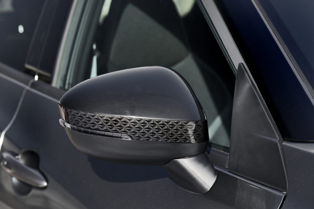 Dettagli dello specchietto retrovisore