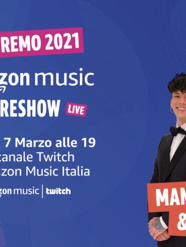 Il manifesto di Amazon Music PreShow 2021