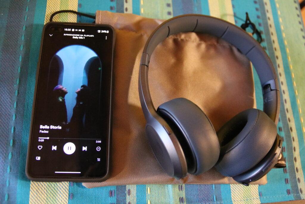 Riproduzione musicale tramite Bluetooth