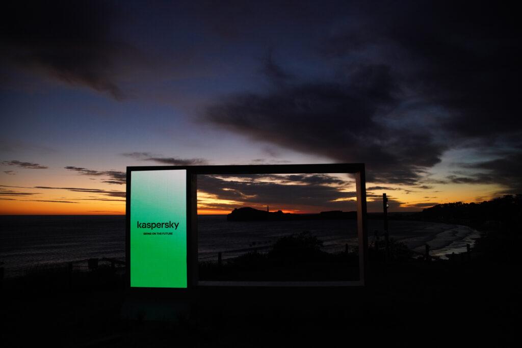 Il cartellone di Safer Tomorrow presente in Nuova Zelanda