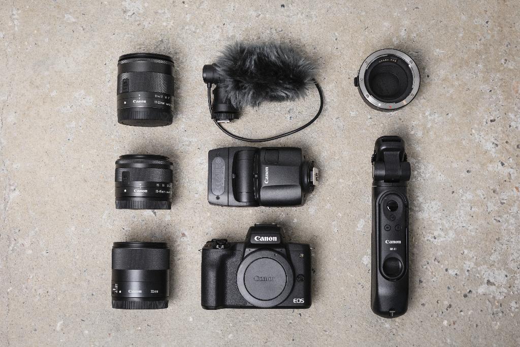 Alcuni accessori adattabili a Canon EOS M50 Mark II