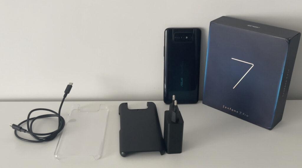 Accessori e confezione dello smartphone