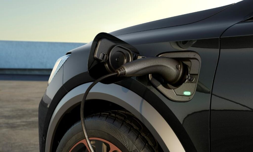Ricarica elettrica sul veicolo