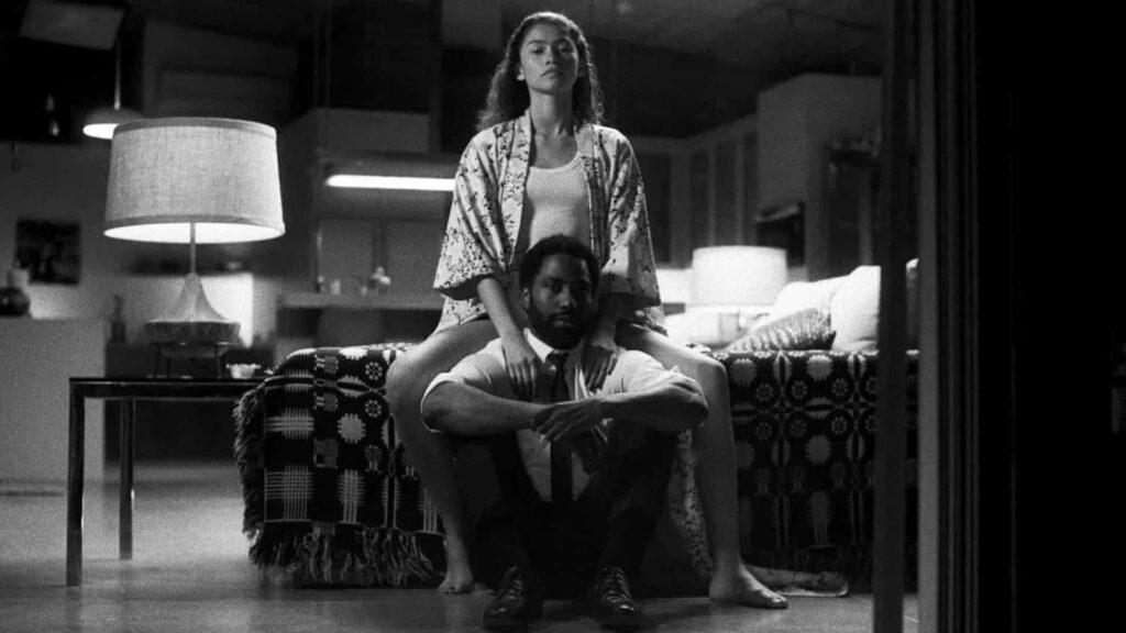 Scena di Malcolm & Marie diretto da Sam Levinson