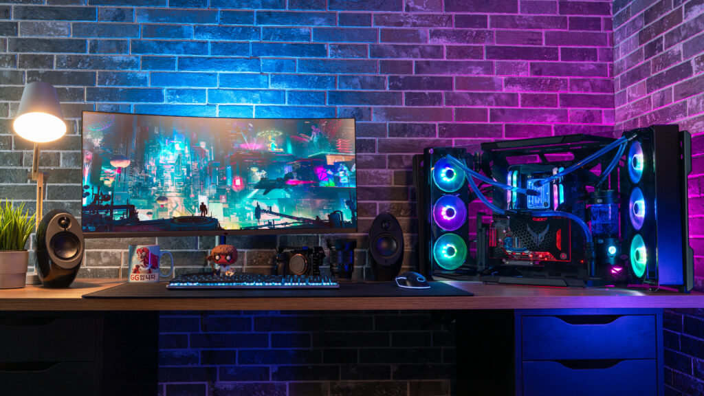 Un setup con MasterFrame 700