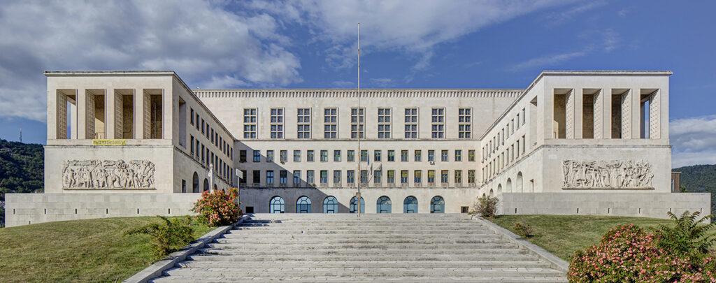 Una foto dell'Università di Trieste