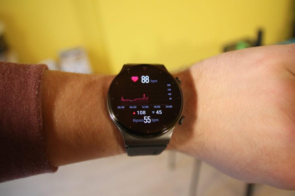 Huawei Watch GT 2 Pro al polso
