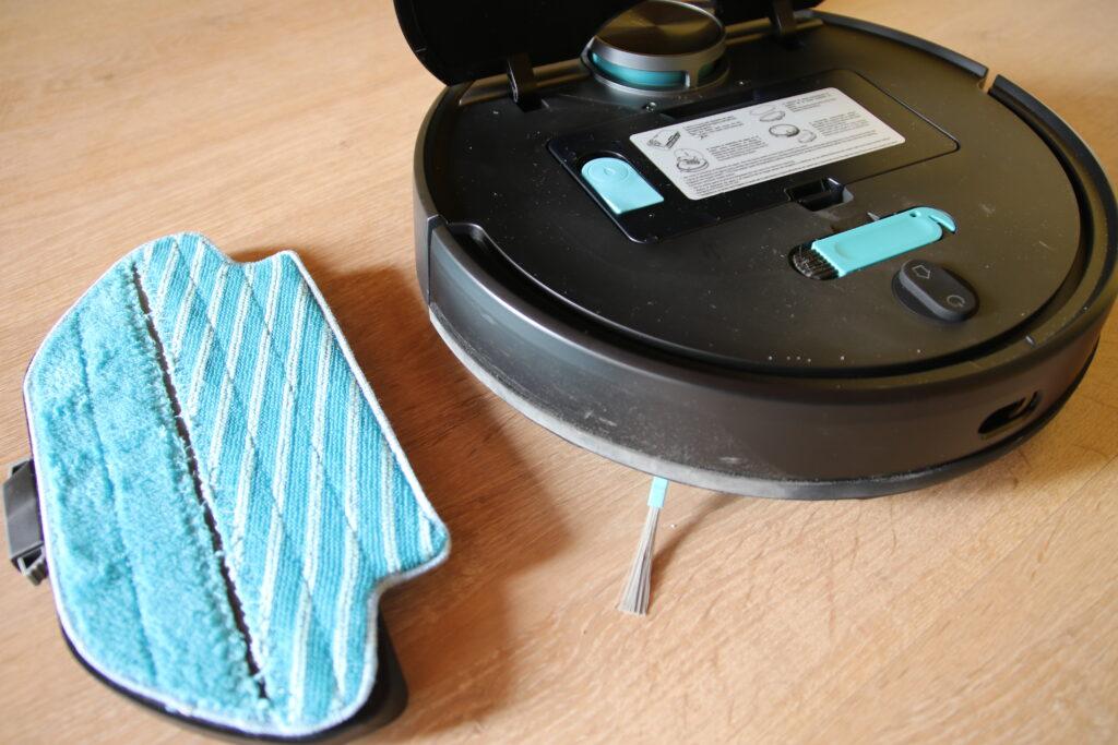 Conga 3790 e panno per lavaggio pavimento