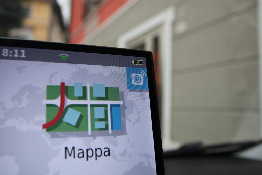 Icona per visualizzare la retrocamera su Garmin DriveSmart 65