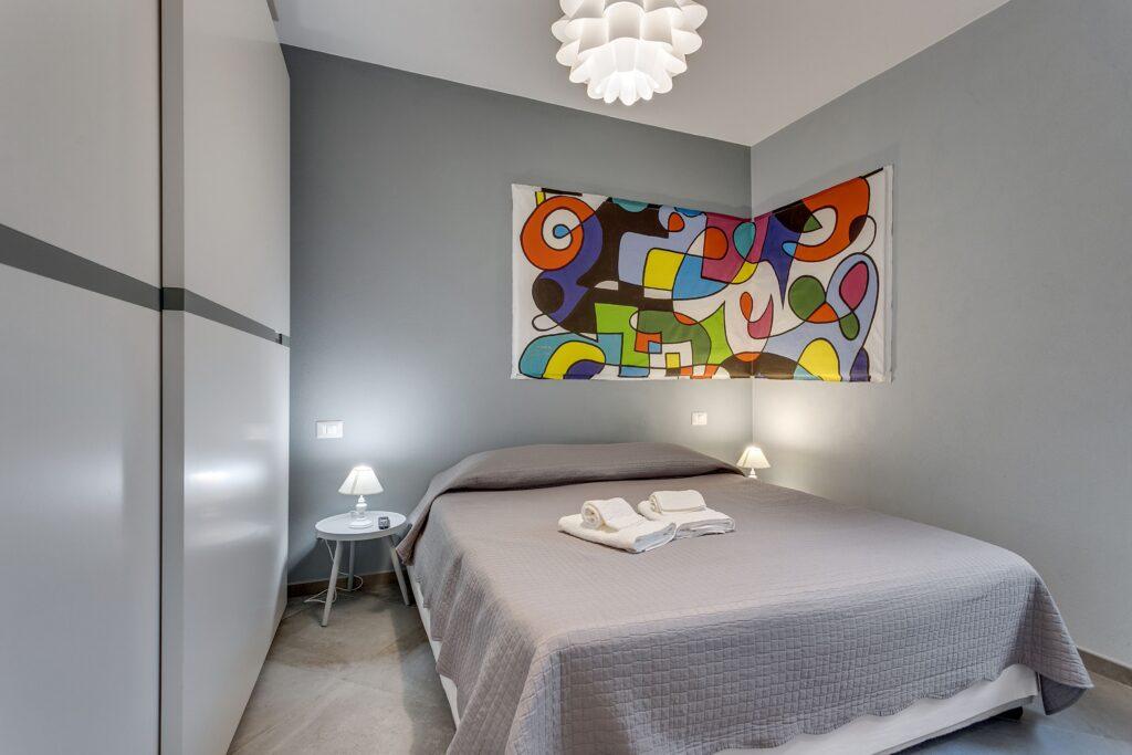 Gli interni di una casa vacanze dedicata alla rental economy