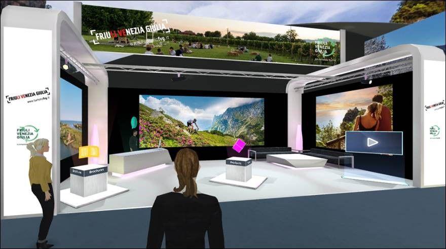 Lo stand virtuale in linea con l'iniziativa FVG goes to digital