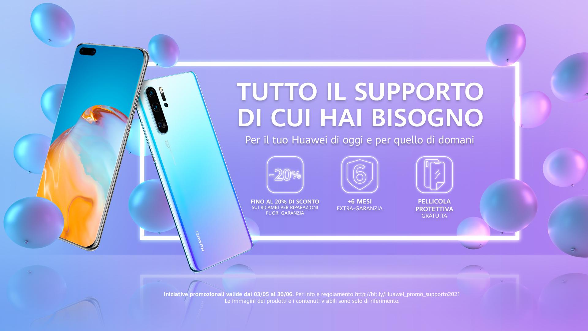 Il volantino delle offerte fino al 30 giugno 2021 di Huawei