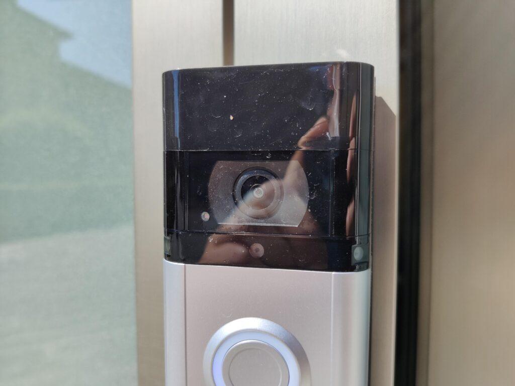 Dettaglio della videocamera di Video Doorbell 3 Plus