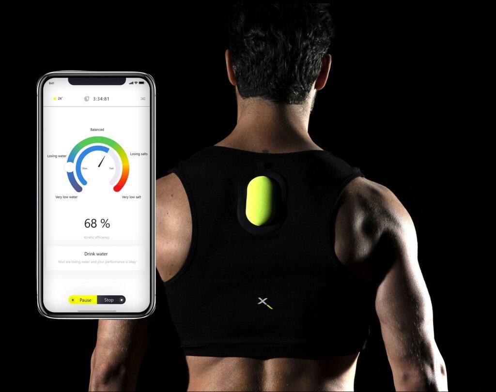 Una foto di app e Swemax indossato