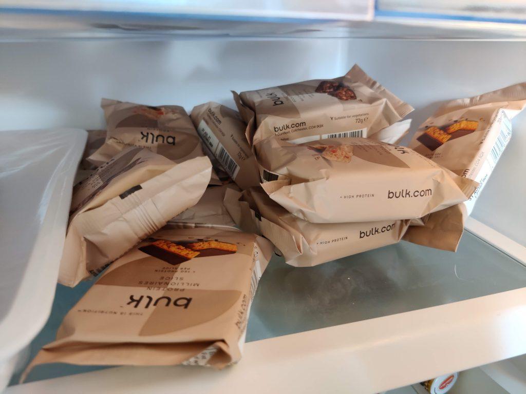 I biscotti nel frigo della redazione
