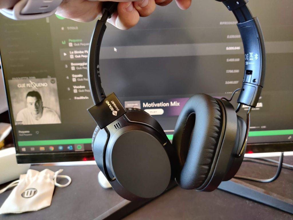 In riproduzione con Spotify da PC