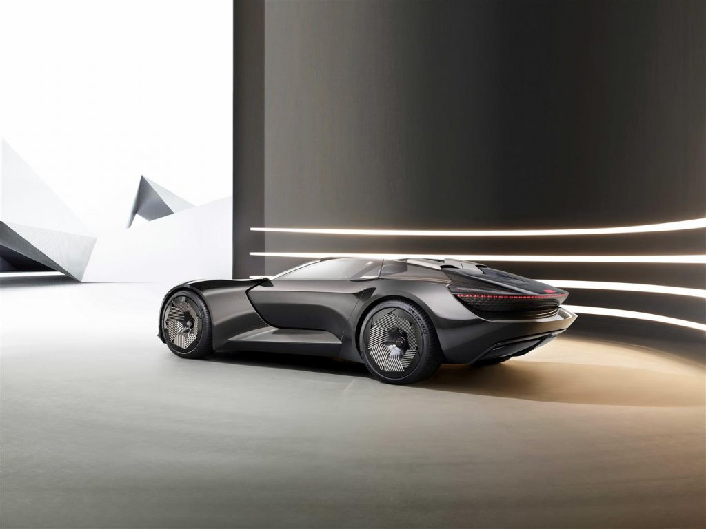 L'estetica ispirante del concept Audi