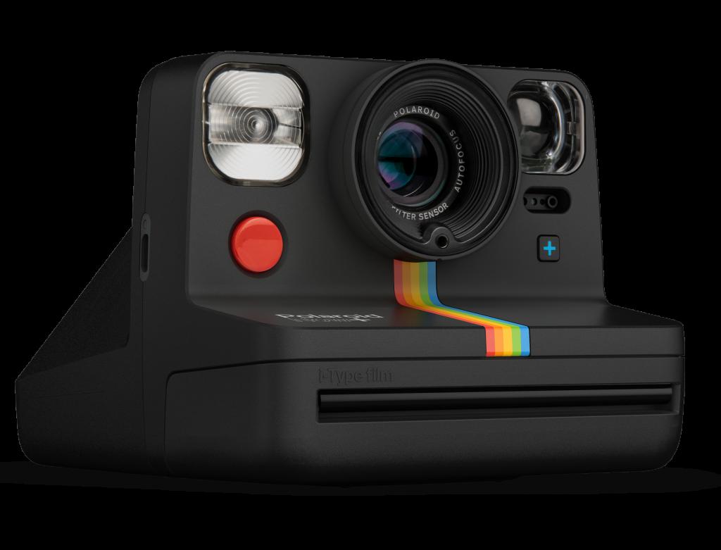 Una foto del design di Polaroid Now+