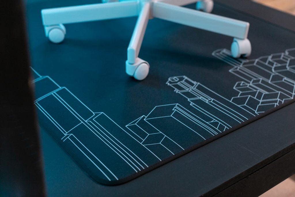 Dettagli degli accessori nati dalla collaborazione tra Ikea e ROG