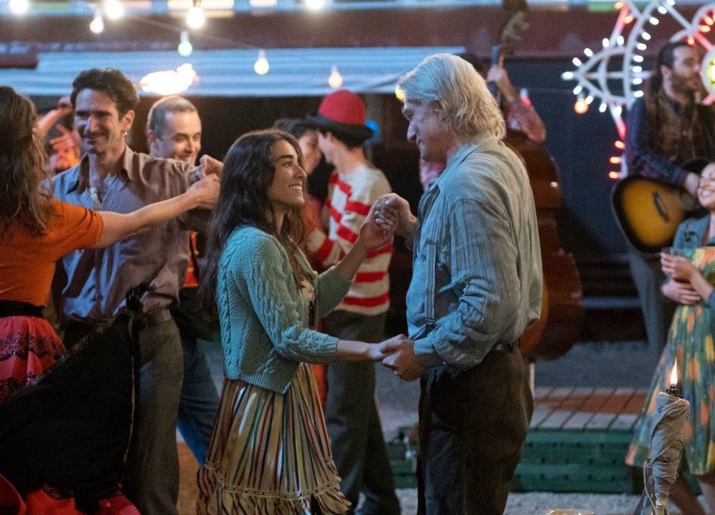 Una scena di ballo tratta dalla serie Luna Park