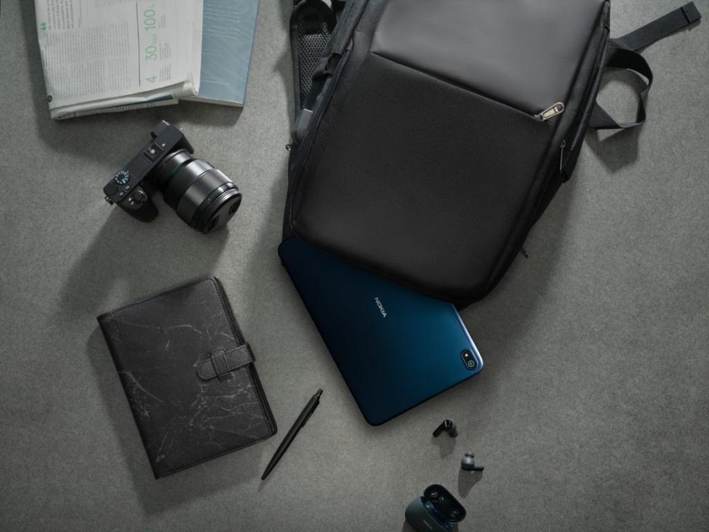Una foto lifestyle del tablet